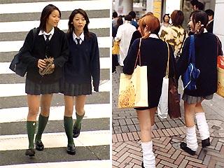 В японии на пике моды одежда